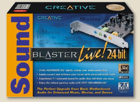 sound blaster live 24 bit