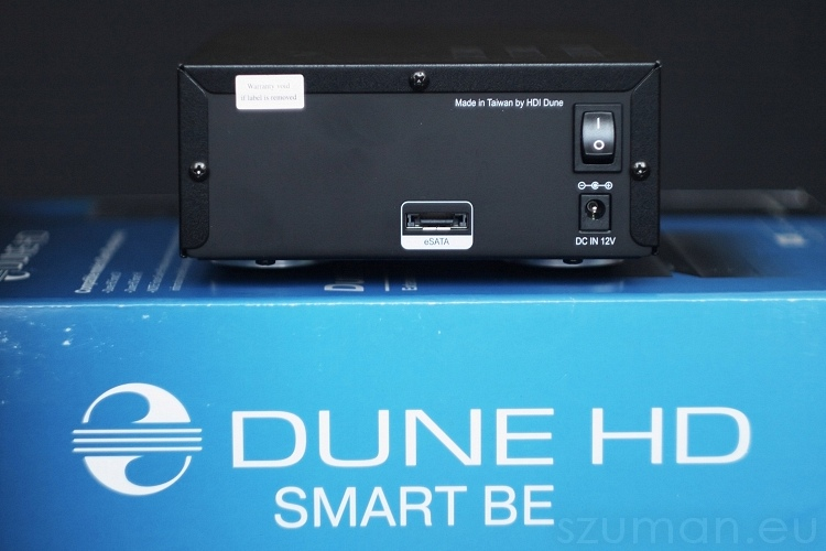 Dune HD Smart BE - tył