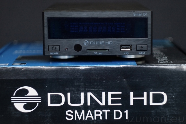 Dune HD Smart D1 - przód