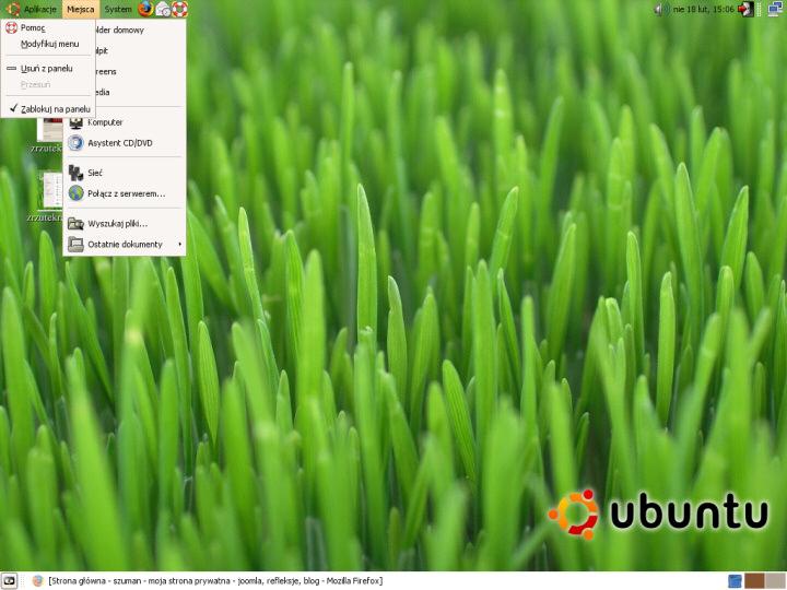 Rzut okiem na Ubuntu 7.04 Herd 4