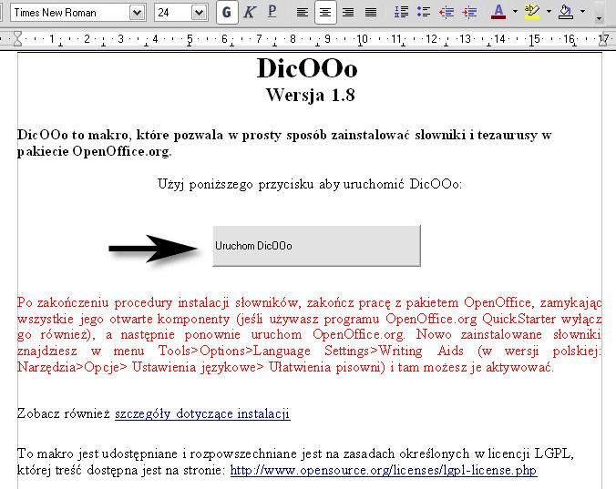 Sprawdzanie pisowni w OpenOffice.org