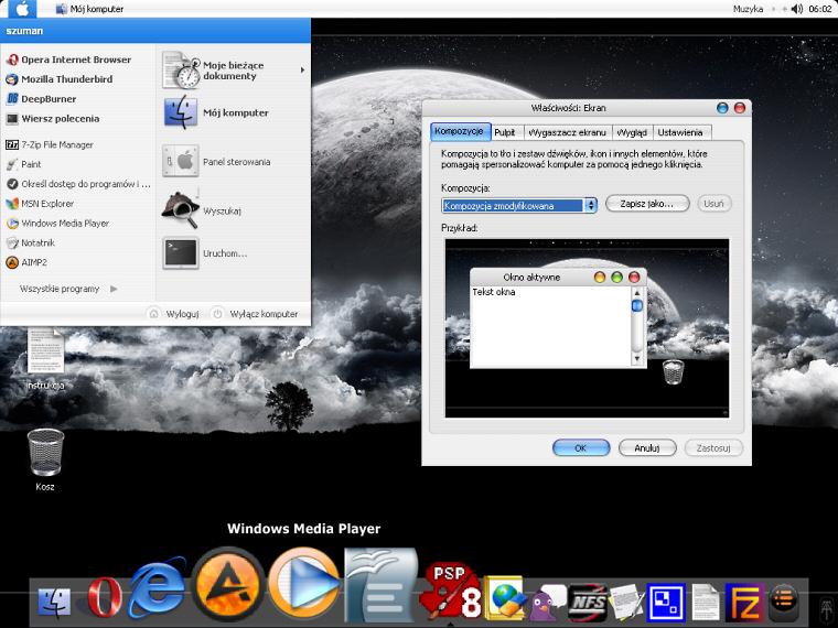 Windows XP jak Mac OS-X Tiger