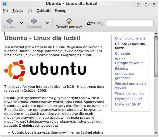 Szybki jak... Ubuntu 8.10 Intrepid Ibex