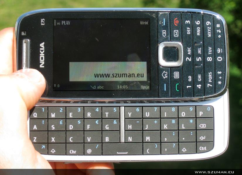 Ja vs Nokia E75. Runda 2 - ogólne wrażenia