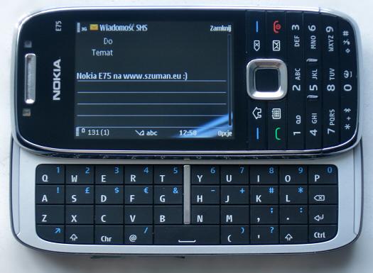 Ja vs Nokia E75. Runda 1