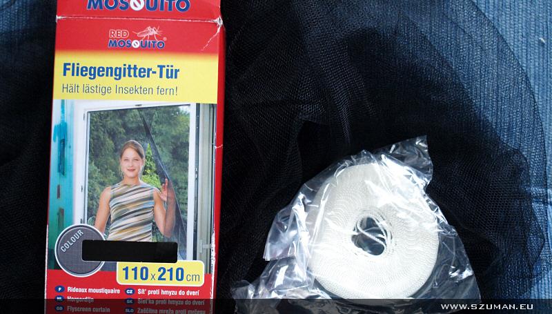 Jak nie kupować moskitiery w hipermarkecie