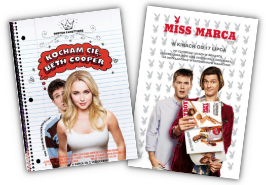 """Kocham Cię, Beth Cooper"" i ""Miss marca"""