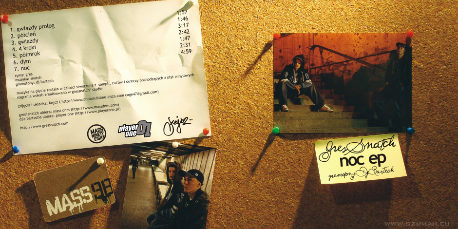 """Poetycko & rapowo: Gres/Snatch - """"Noc"""""""