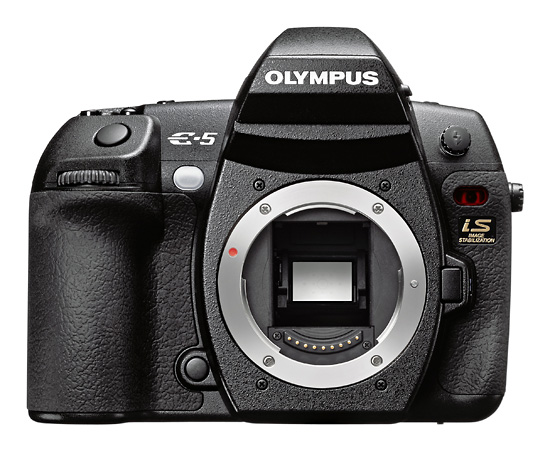 Olympus E-5 – jednak…
