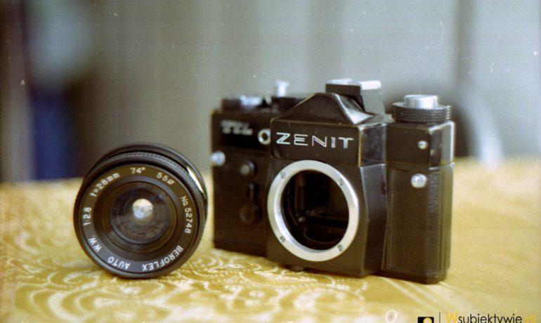 Fuji Superia 200 - pierwszy film zrobiony Porstem C-TL i sprostowanie w sprawie Zenita