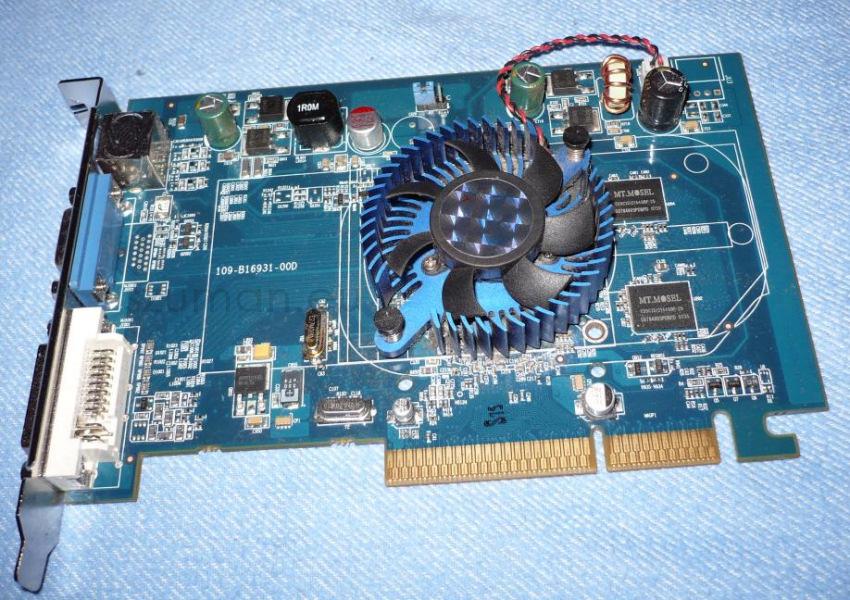 Sapphire Radeon HD 2400 PRO AGP na pokładzie
