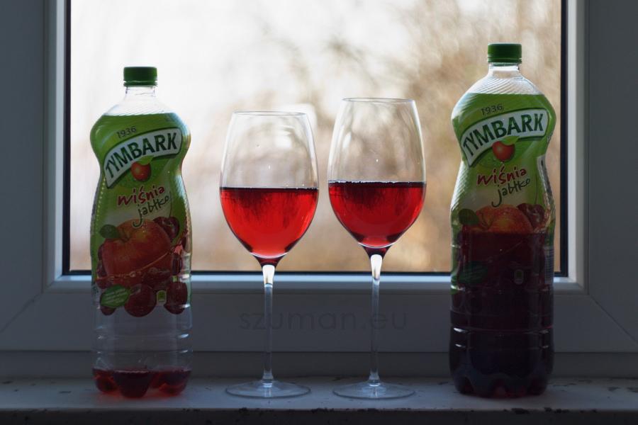 Tymbark z Biedronki i ja - nabity w butelkę 1,75l