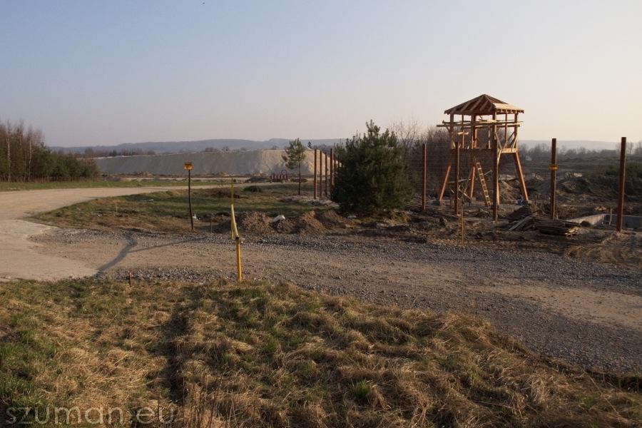 Przy budowie A4 powstaje obóz pracy przymusowej