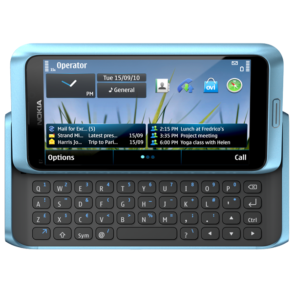 Niebieska Nokia E7 uprzejmie prosi Was o uwagę :)