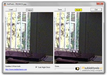 HotPixels – darmowy program do usuwania gorących pixeli