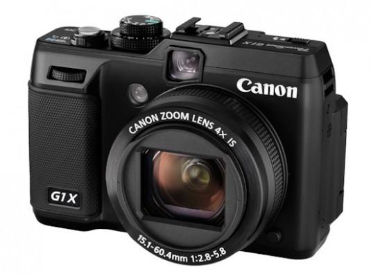 Canon PowerShot G1 X – zapowiada się pysznie