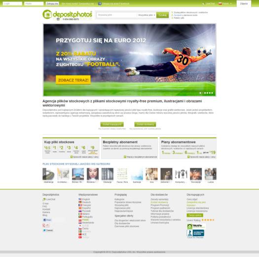 Depositphotos.com – coraz bardziej dla Polaków