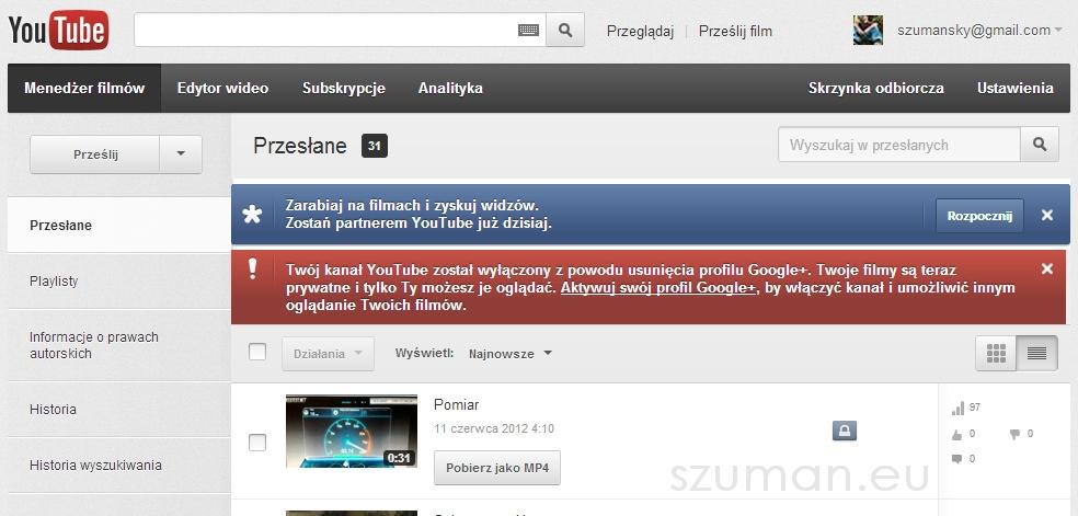 Jak to Google zmusza do korzystania z Google+