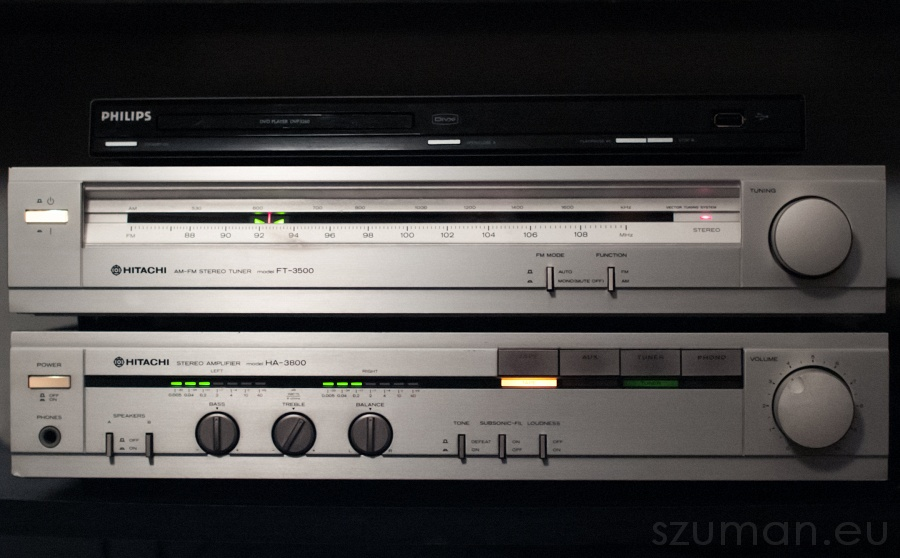 Hitachi HA-3800 - druga młodość vintage