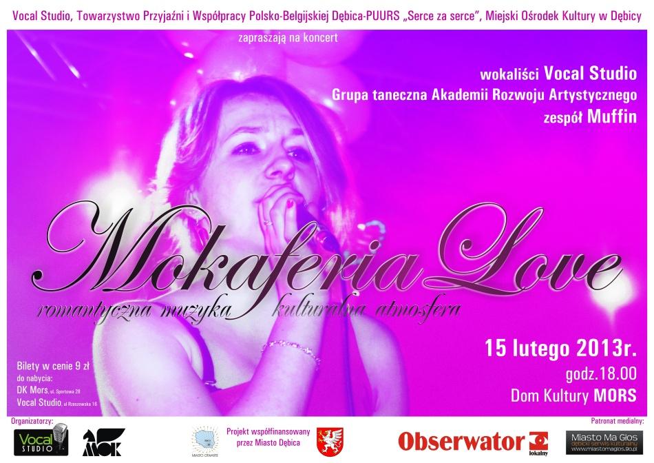 Zapraszam na koncert Mokaferia Love