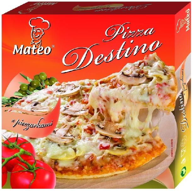 Pizza Mateo Destino - opinia po kilku pizzach