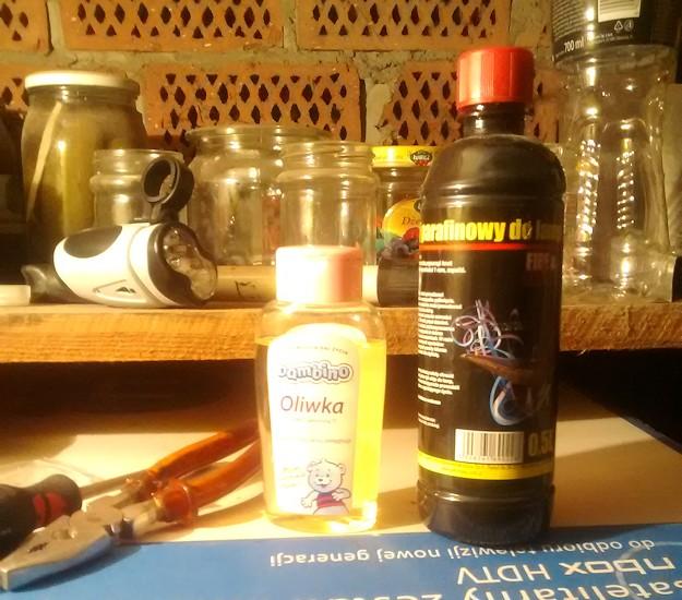 Mój awaryjny zestaw do czyszczenia i smarowania łańcucha w rowerze ;)