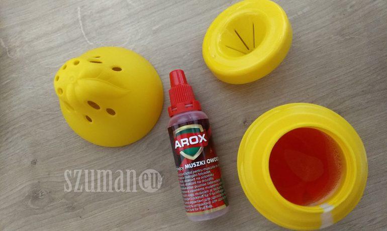 AROX - pułapka na muszki owocówki - tę polecam!