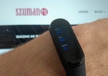 Analiza snu przez Xiaomi Mi Band 4 + Mi Fit