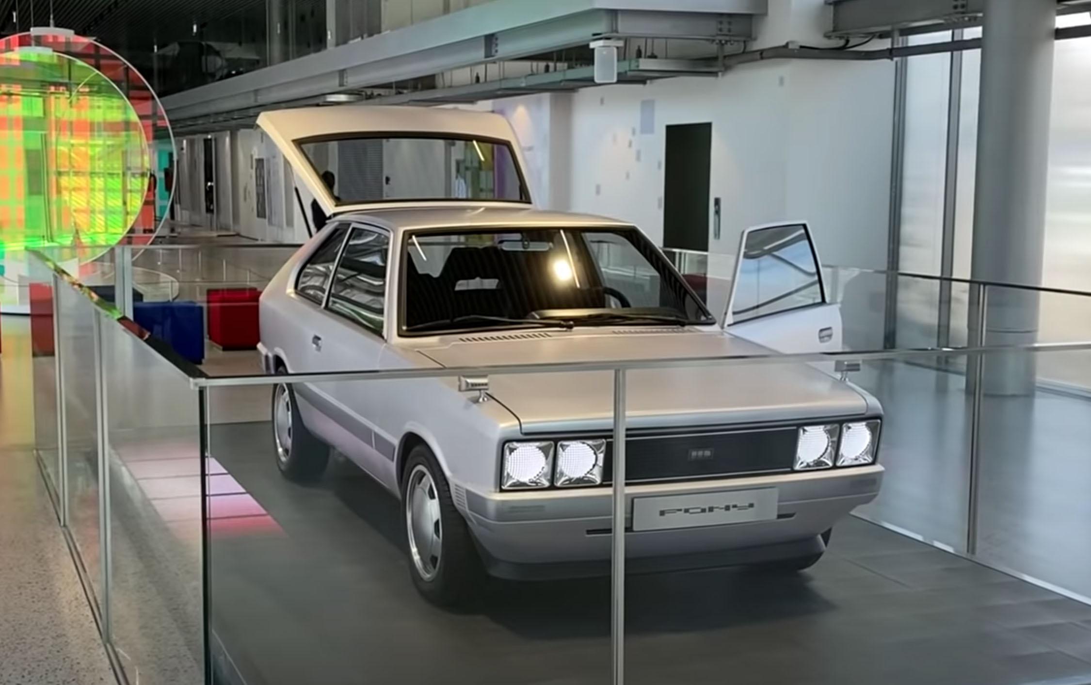Hyundai Pony EV Concept Car